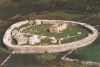 Aerial view of Cashel