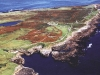 Aerial view of Inishmurray